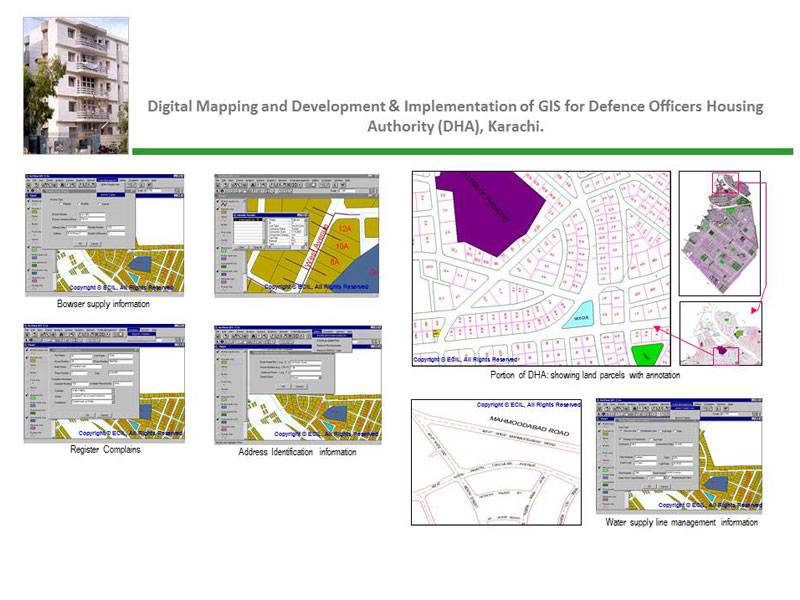 ECIL - Projects - Digital Mapping and Development & Implementation Digital Mapping on
