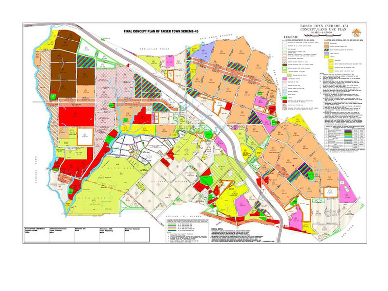 ECIL - Projects - Master Planning of 20,570 Acres for Taiser